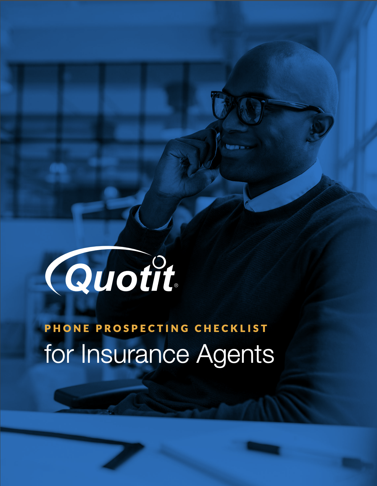 Phone Prospecting Checklist for Insurance Agents | Quotit