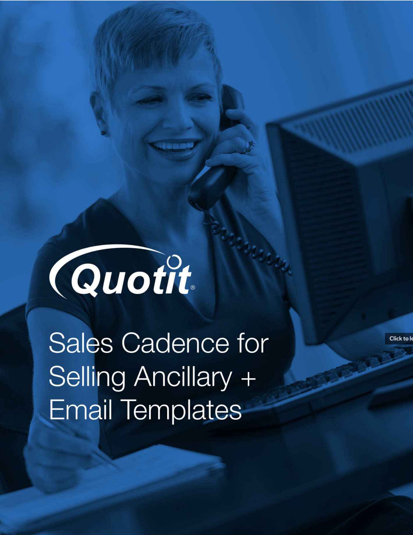 Sales Cadence for Selling Ancillary + Email Templates | Quotit