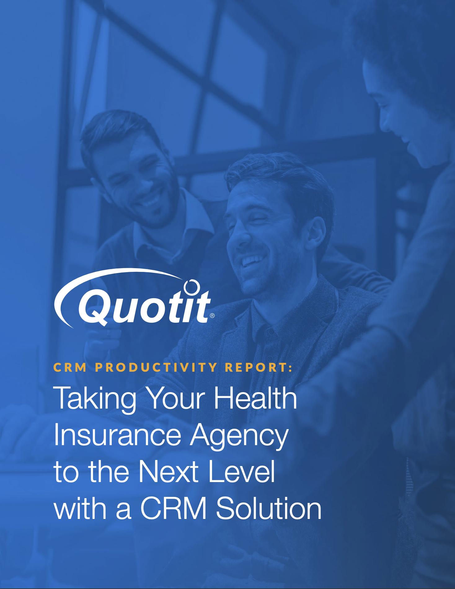 CRM productivity report ebook