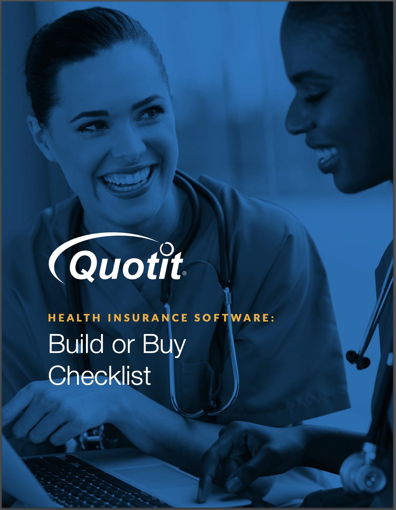 Build or Buy Checklist | Quotit